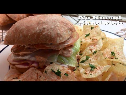 No Knead Sandwich
