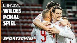DFB-Pokal: Zweitligist Regensburg schmeißt Köln im Elfmeterschießen raus I Sportschau