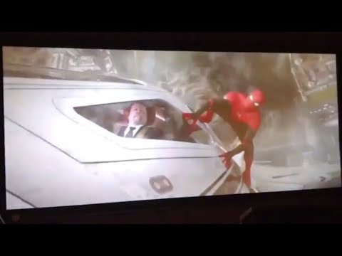 LEAKED SPIDER-MAN FAR FROM HOME FOOTAGE In Leaked Trailer