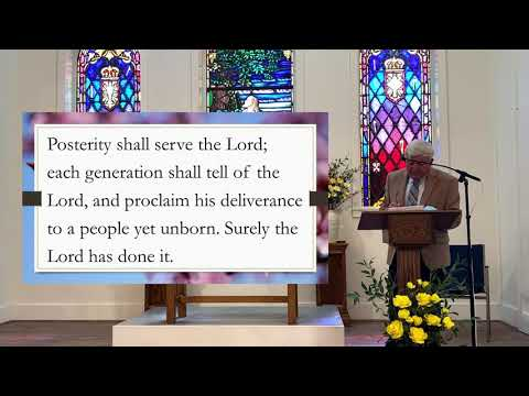 May 2nd, 2021 - Church Service