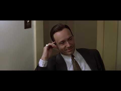 L.A. Confidential/Best Scene/Curtis Hanson/Kevin Spacey/James Cromwell/Russell Crowe/Guy Pearce