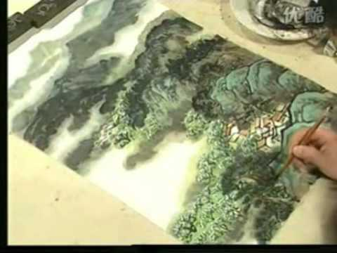 Landscape Chinese Painting with Composition Study for Beginners (Part 17)