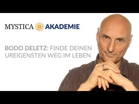 MYSTICA-AKADEMIE: Bodo Deletz - Finde Deinen ureigensten Weg im Leben (Teaser)