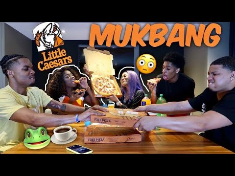 Putting an end to it all.. LITTLE CEASERS PIZZA MUKBANG FT. ABBY NICOLE & AMOUR KAY‼️🍕😳 thumbnail