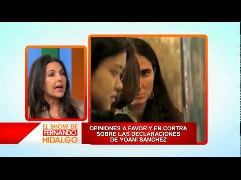 Debate sobre Yoani Sánchez y su papel fuera de Cuba