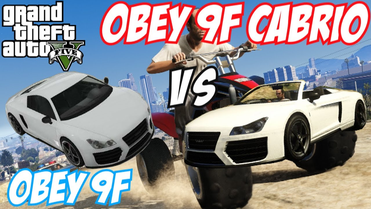 GTA 5 - Obey 9F Vs Obey 9F Cabrio | #7 (GTA V) - YouTube