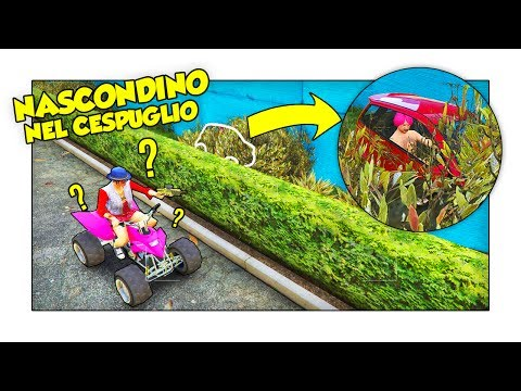 NASCONDINO CON LE AUTO NELLA METROPOLI! - GTA 5 w/ Two Players One Console