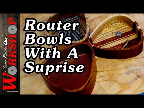 How to make a Wooden Bowl (With a Router)