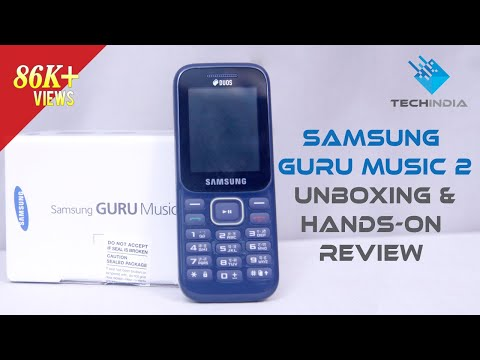 Samsung Guru Music 2  Unboxing and Hands-On Review