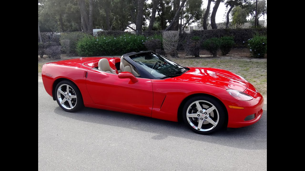 Sold 2005 chevrolet corvette convertible victory red - Chefy 5 opiniones ...