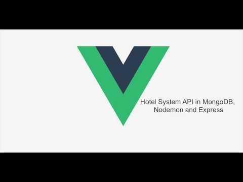 2 Let's make a web app Hotel system in Vuejs - REST API in