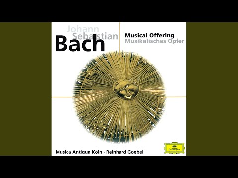 J.S. Bach: Musical Offering, BWV 1079 - Canon a 2 cancrizans