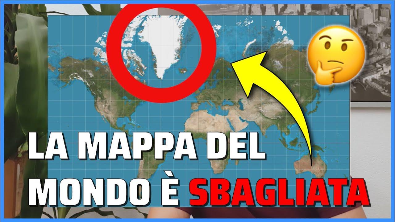 Cartina Mondo Immagini.Questa E La Vera Mappa Del Mondo Youtube