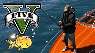 GTA 5 FISHING MOD!