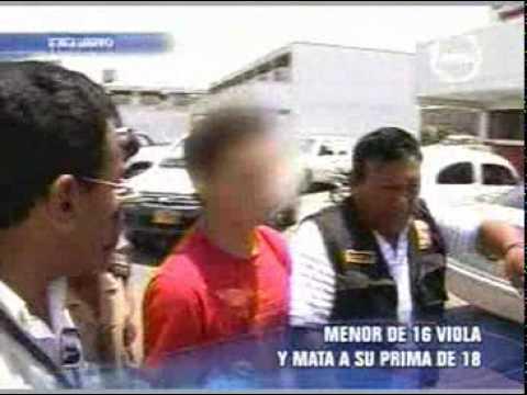 Joven Violó Y Mató A Su Prima Noticias Perú Trome Youtube
