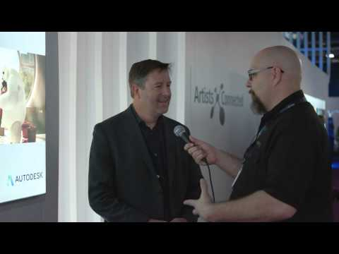 NAB 2015: Interview with Autodesk