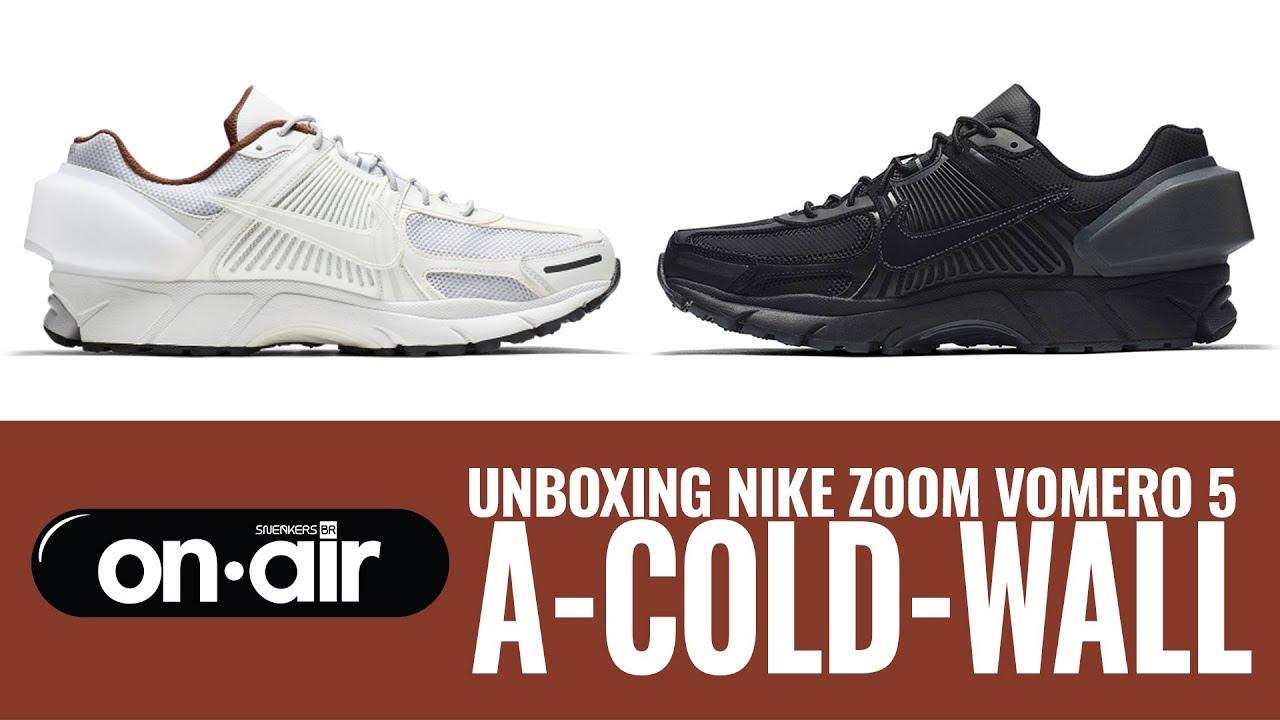 e1cf50565ba1 SBROnAIR Vol. 110 - Unboxing Nike Zoom Vomero 5 x A-COLD-WALL  - YouTube