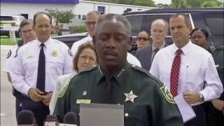 Authorities discuss Orlando workplace shooting