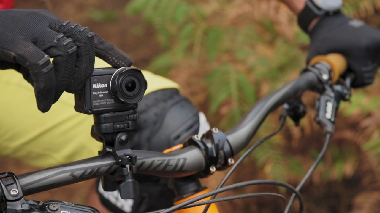 Mountain Biking In Madeira With The Nikon Keymission 360 Action