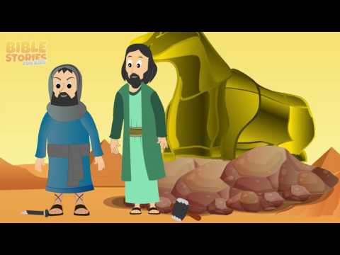 God gives the Ten Commandments! - Bible Stories For Kids!