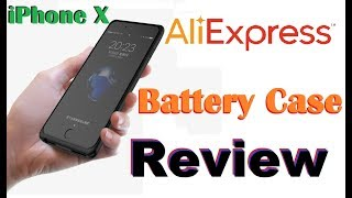 iPhone 6/7/8/X 5000mAh Battery Case Review - AliExpress