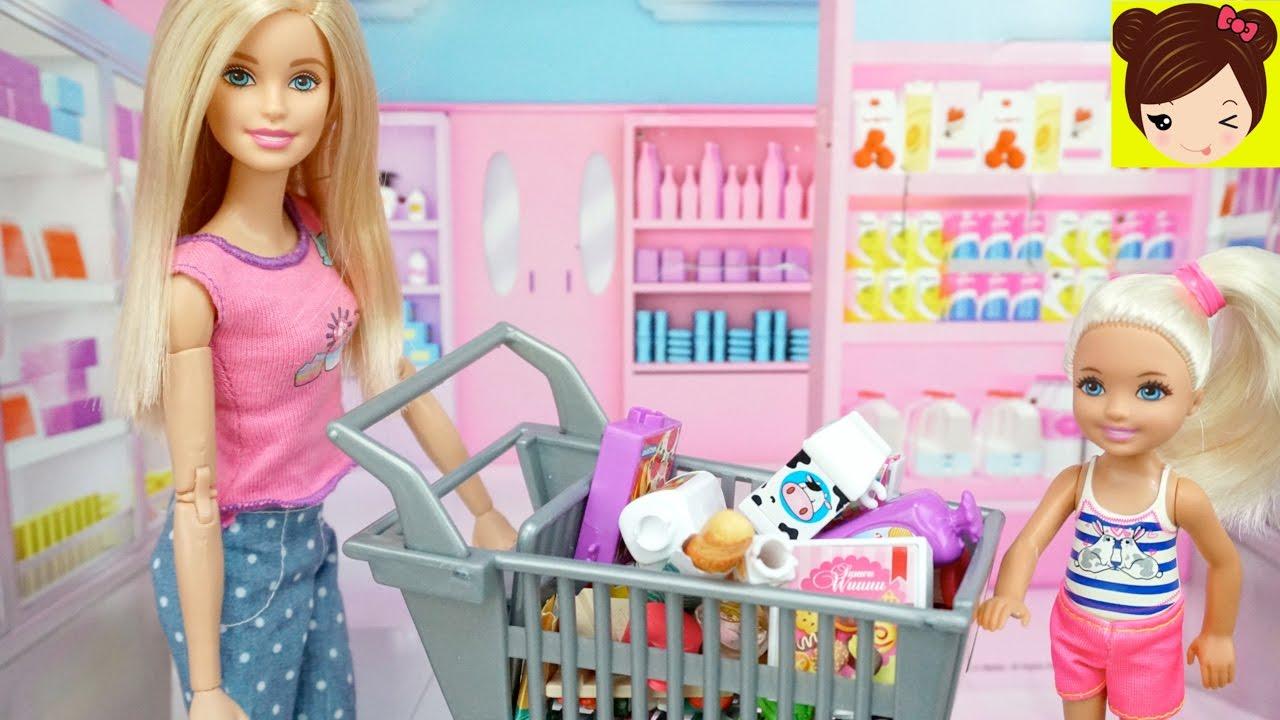Barbie Prepara Una Cena Para La Mama De Ken Con Ayuda De Sus