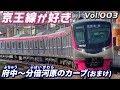 京王線が好き 003 府中~分倍河原のカーブ(おまけ) の動画、YouTube動画。