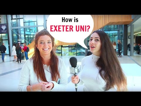 Interview to Exeter University