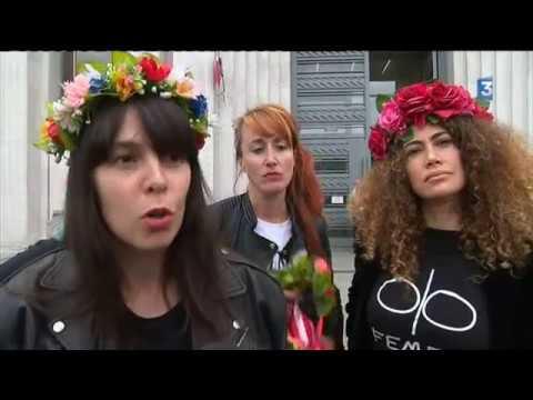 Hénin-Beaumont : un mois de prison avec sursis requis contre neuf Femen