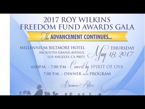 NAACP 2017 Roy Wilkins Awards Invite