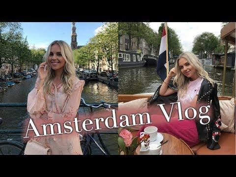 Amsterdam Travel Vlog   July 2017