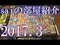 【saiのルームツアー2017.3】ゲーム部屋&アニメ部屋などの部屋紹介動画【2017 Game Room Tour】