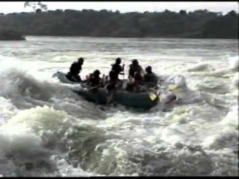 Bujagali Falls Rafting 1998