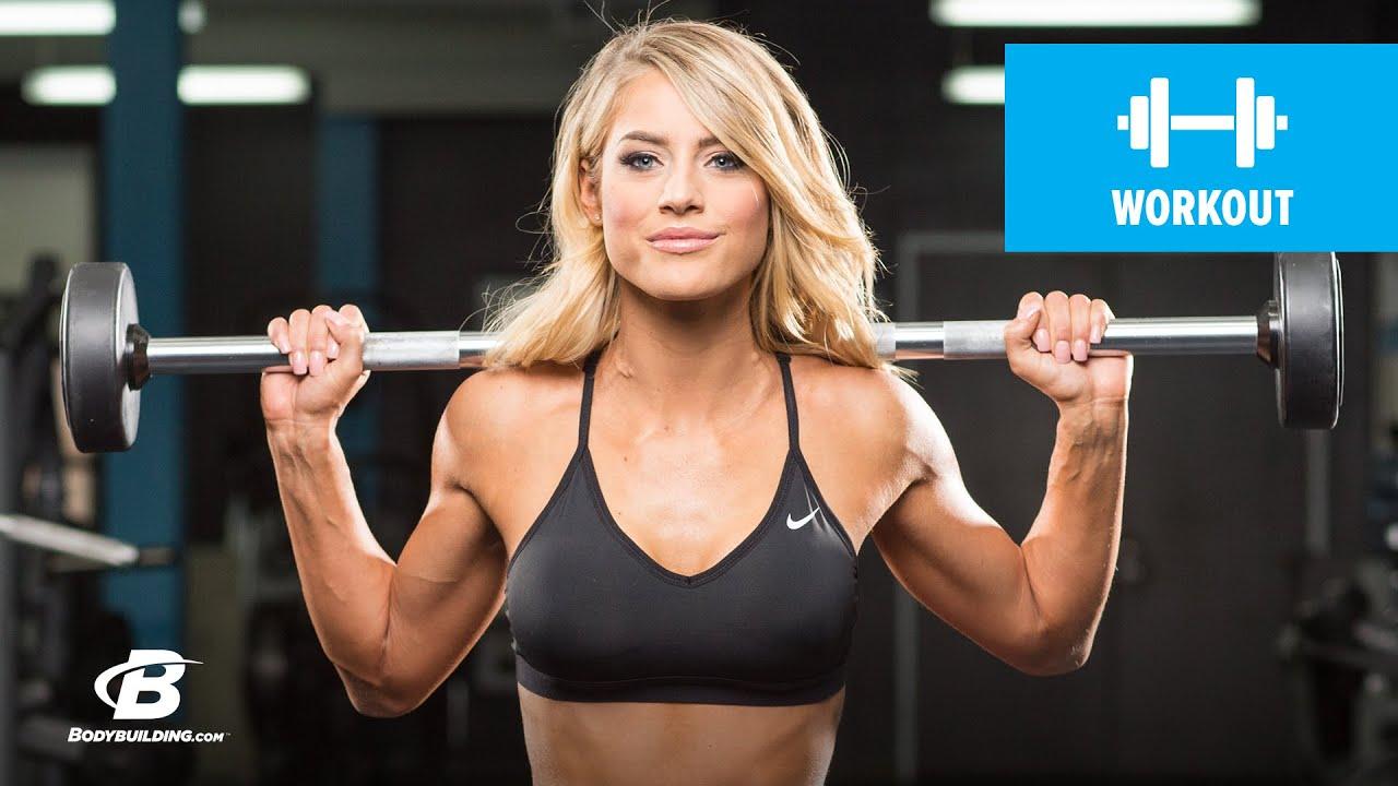 Gym Workout Girl Wallpaper Total Body Bikini Circuit Workout Danielle Belanger