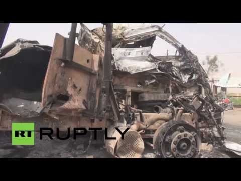 Yemen: Hodeidah clear-up continues following Saudi-led airstrikes