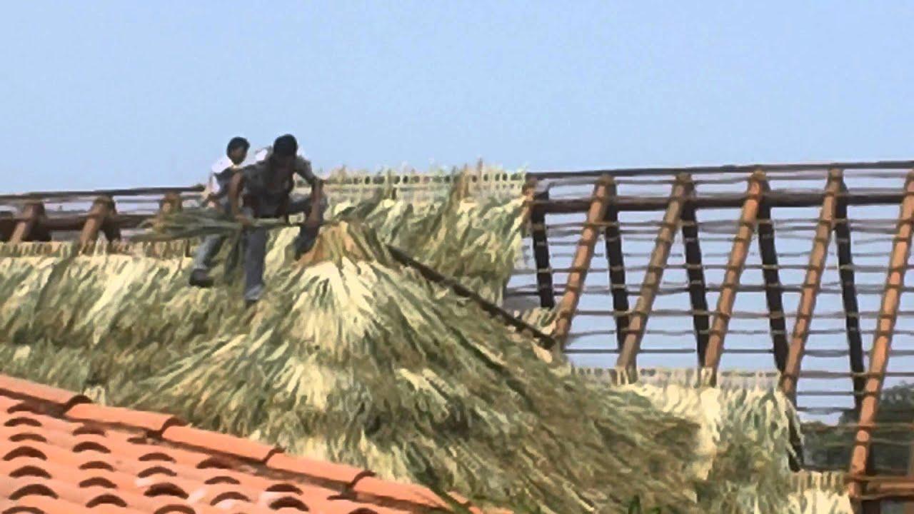 Las Palapas How Do You Build Las Palapas Roofs Youtube
