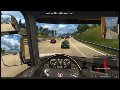 Travelling to furry conventions episode 3: Zurich to Stockholm with Scania (ETS2)