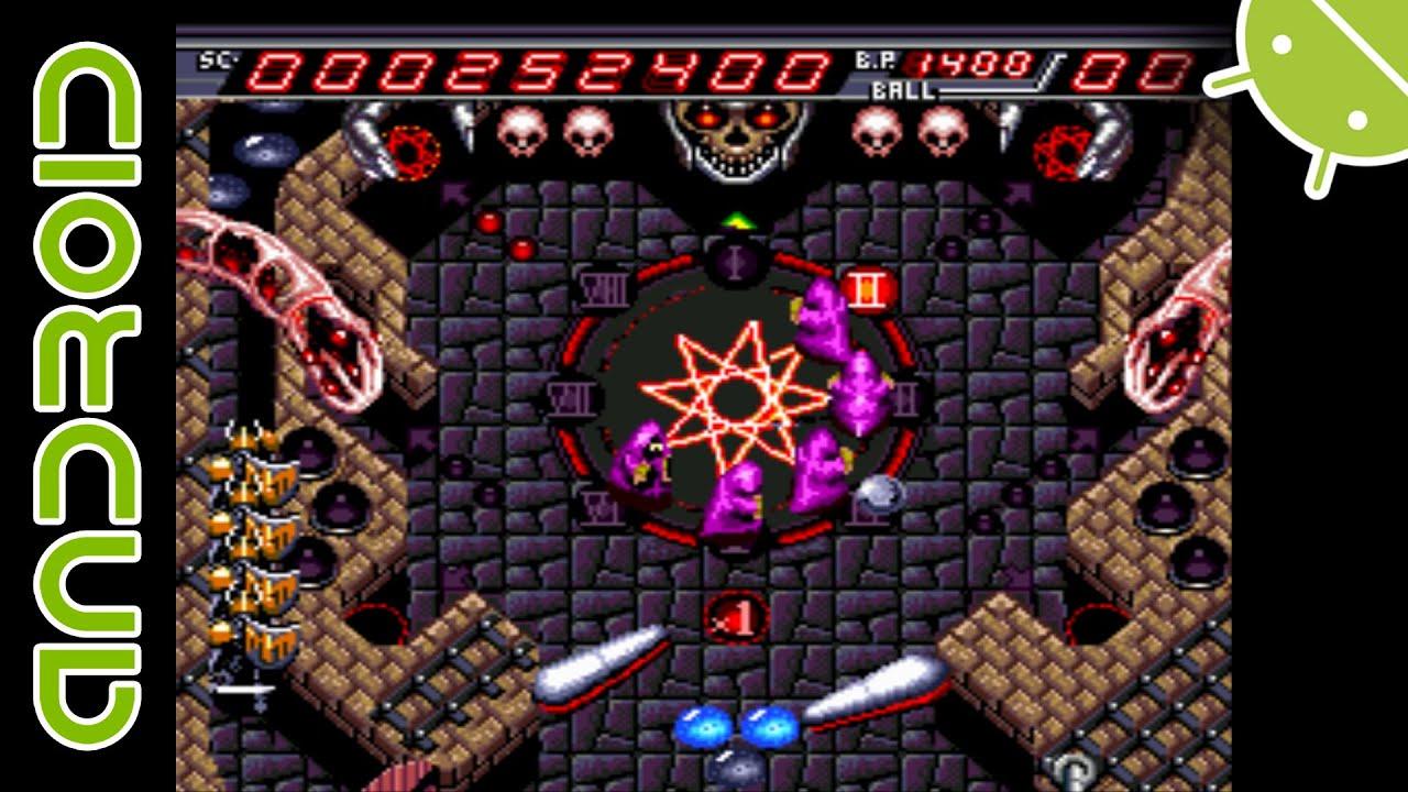 [60 FPS] Devil's Crush   NVIDIA SHIELD Android TV   RetroArch Emulator  [1080p]   NEC TurboGrafx-16