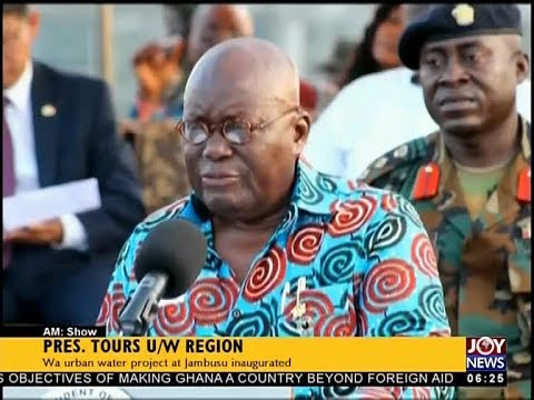 Pres. Tours U/W Region - AM News on JoyNews (3-10-17)