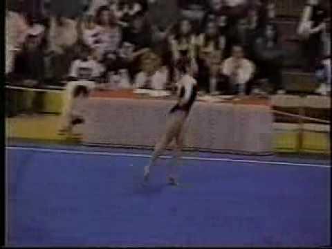 katie hardman 1999 american classic floor exercise