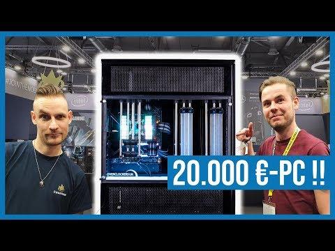 Die TEUERSTEN PCs & KRASSESTEN Mods am Caseking-Stand - Gamescom 2019