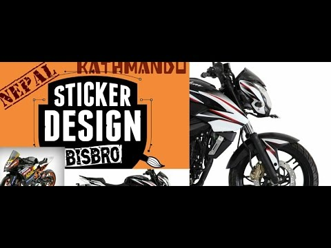 Subscribe to BisBro /Sticker Job Done / design/Basundhara,Kathmandu /Nepal/BisBro/