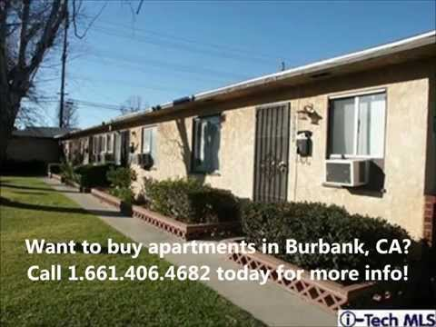Burbank California Apartments For Sale - 4 Unit Income Property Investments - Francis Lennarz RE/MAX