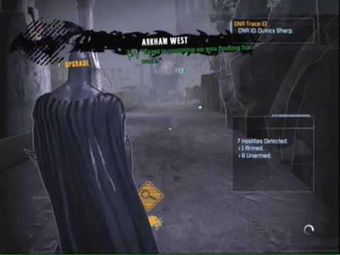 Batman Arkham Asylum- Tracking Down the Warden |