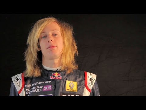 Brendon Hartley Red Bull Junior Team interview (2010)