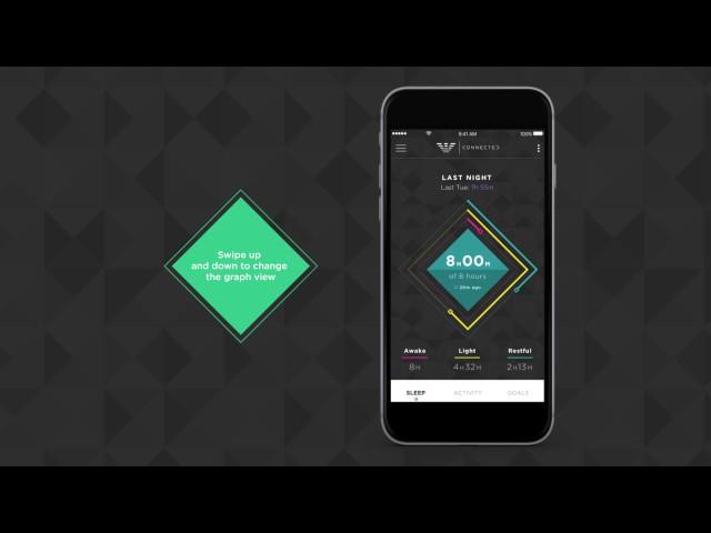 Emporio Armani Connected - Hybrid Smartwatch - Sleep Tracking
