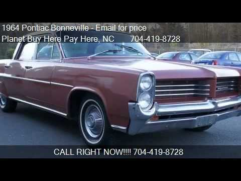 1964 pontiac bonneville star chief for sale in charlotte youtube. Black Bedroom Furniture Sets. Home Design Ideas