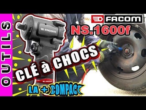 [✅TEST] LA PLUS COMPACTE DES CLES A CHOCS FACOM NS.1600F