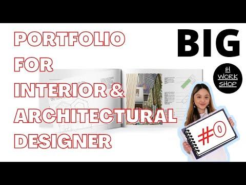Interior and Architectural Portfolio workshop for aspiring designers 2021