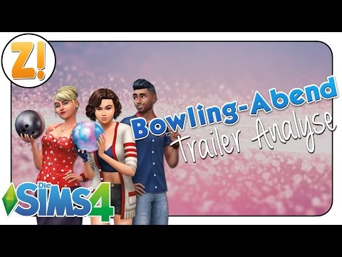 Kaddi's SimNews: Die Sims 4 Bowling-Abend-Accessoires | Traileranalyse [DEUTSCH]